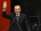 Turkish Prime Minister Recep Tayyip Erdoğan making the Rabia sign. Wikimedia Commons/Public domain