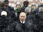 Russian President Vladimir Putin attends a wreath laying ceremony to mark the Defender of the Fatherland Day at the Tomb of the Unknown Soldier by the Kremlin wall in central Moscow, Russia.