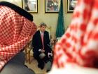 U.S. Secretary of State John Kerry addresses Saudi and American reporters in Riyadh. Flickr/U.S. Department of State