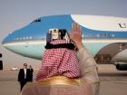 President Barack Obama waves as he departs King Khalid International Airport in Riyadh. Flickr/The White House.