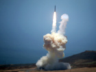 The Ground-based Midcourse Defense (GMD) element of the U.S. ballistic missile defense system launches during a flight test from Vandenberg Air Force Base, California