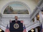 U.S. President Trump delivers speech at Utah State Capitol in Salt Lake City, Utah
