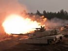 Ceremonial rounds fired from M1A2 Abrams Tanks at the Adazi Training Area, Latvia. Flickr/U.S. Army Europe