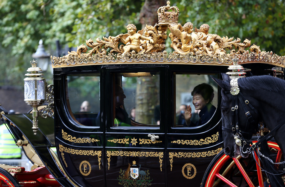 President Park Geun-hye on state visit to United Kingdom. Flickr / Republic of Korea