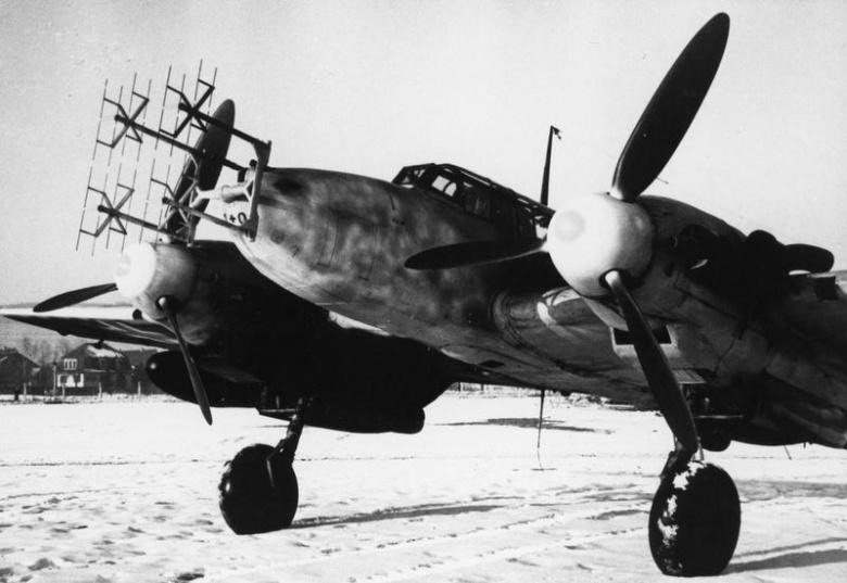 Messerschmitt Bf 110G. Wikimedia Commons/Public domain