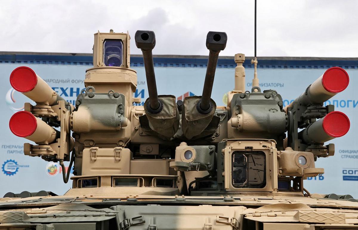 ظهور ال terminator في قاعدة حميميم في سوريا 1280px-bmpt_at_engineering_technologies_2012_8