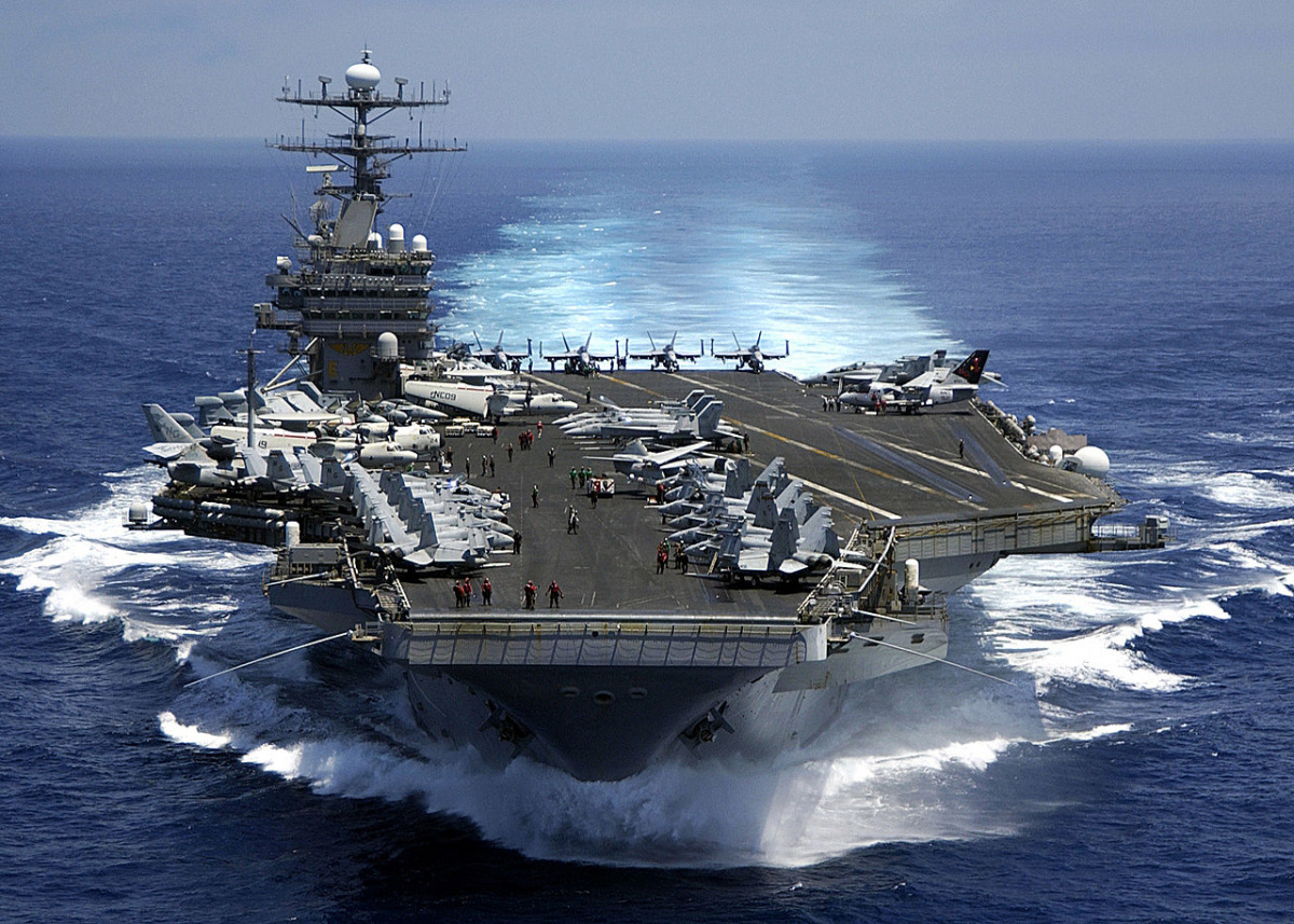 North Korea threatens to sink USA aircraft carrier with single strike