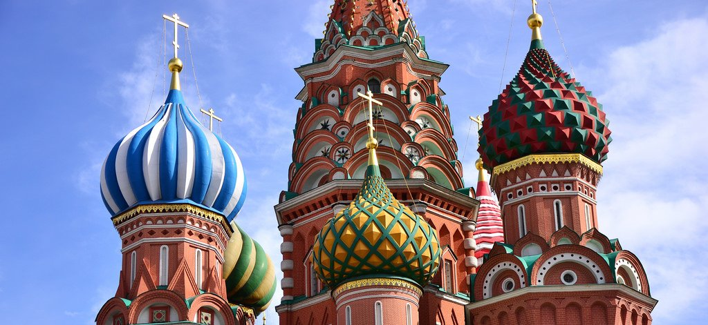 St. Basil's Cathedral, Moscow. Flickr/Creative Commons/Sammy Six