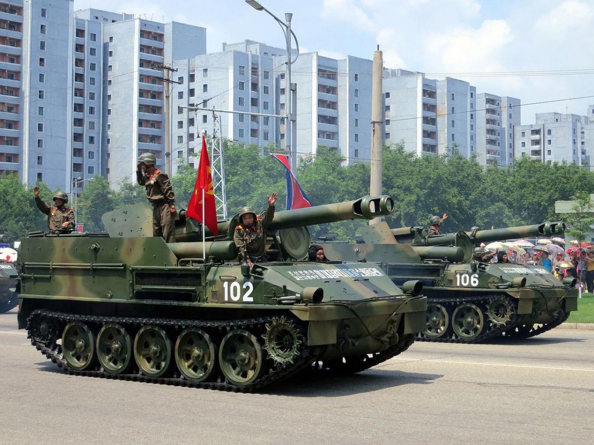 North Korea Victory Day, 2013. Wikimedia Commons