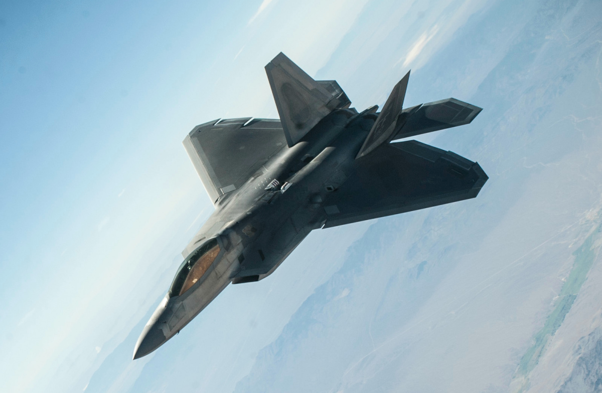Image result for pics of F-22 stealth fighter jets