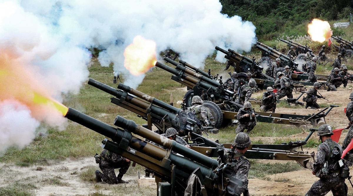 South Korean military exercise.