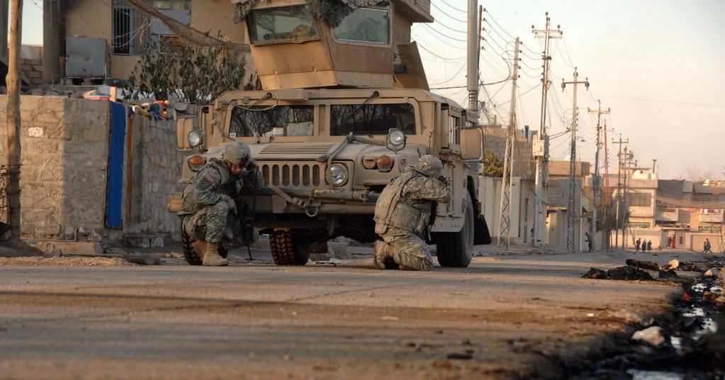 U.S. Army soldiers in Mosul, Iraq. Flickr/U.S. Army