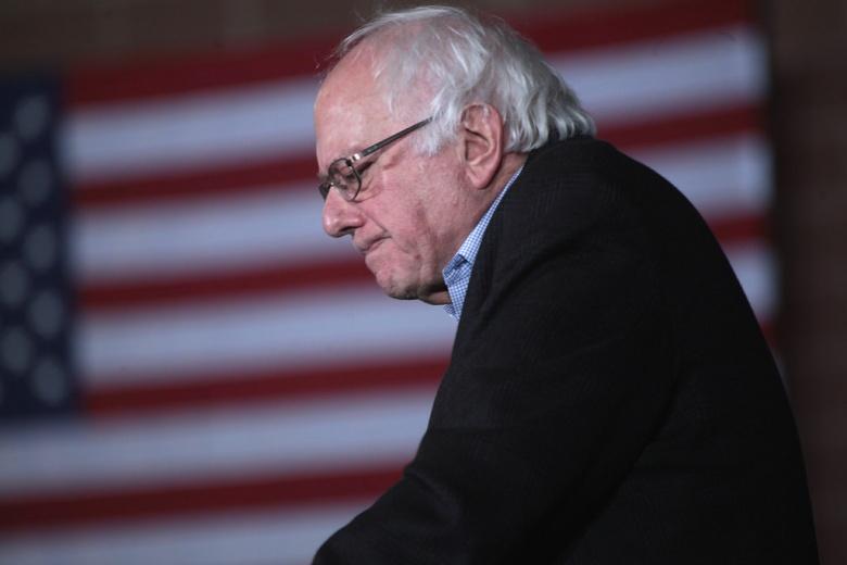 Image: Bernie Sanders in Iowa, 2016. Flickr/Gage Skidmore, CC BY-SA 2.0.