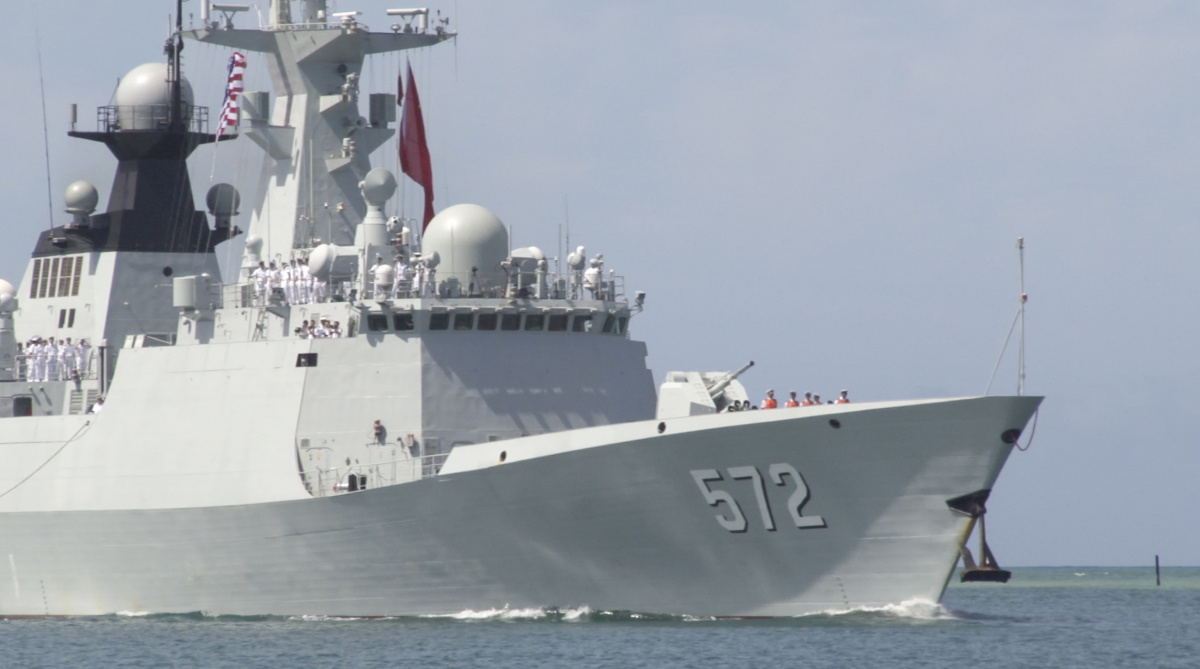 People's Republic of China People's Liberation Army Navy Hengshui at Rim of the Pacific 2016. DVIDSHUB/Public domain
