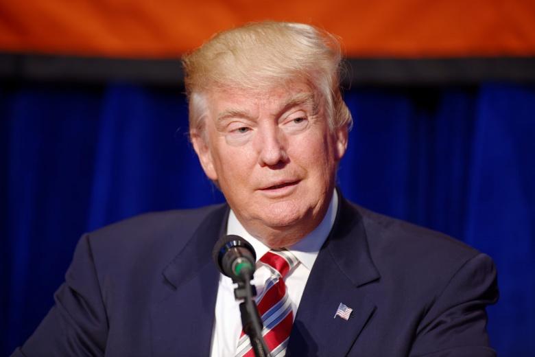 Donald J. Trump at Marriott Marquis NYC September 7, 2016. Flickr/Michael Vadon