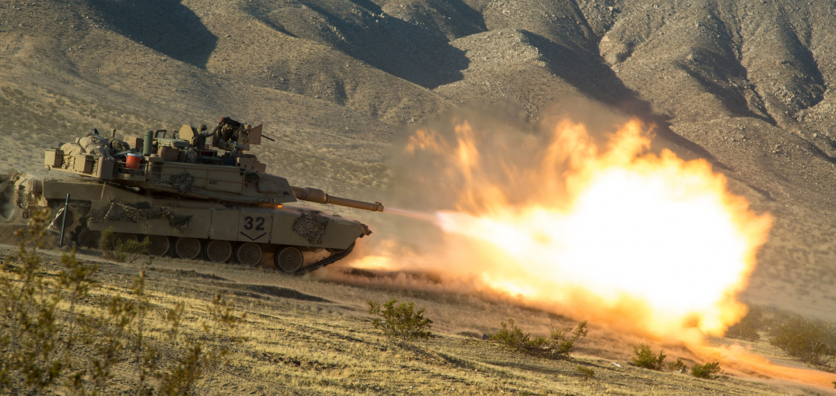 Live fire exercise at the National Training Center in Fort Irwin, California. DVIDSHUB/Public domain