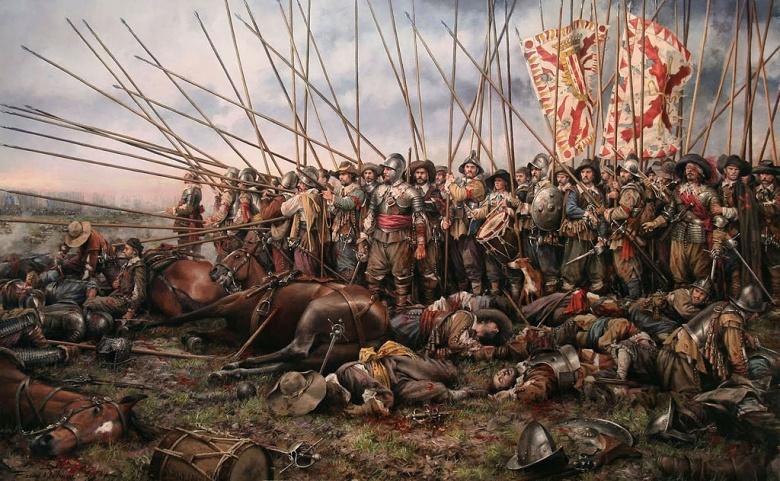 Augusto Ferrer-Dalmau's The Battle of Rocroi.