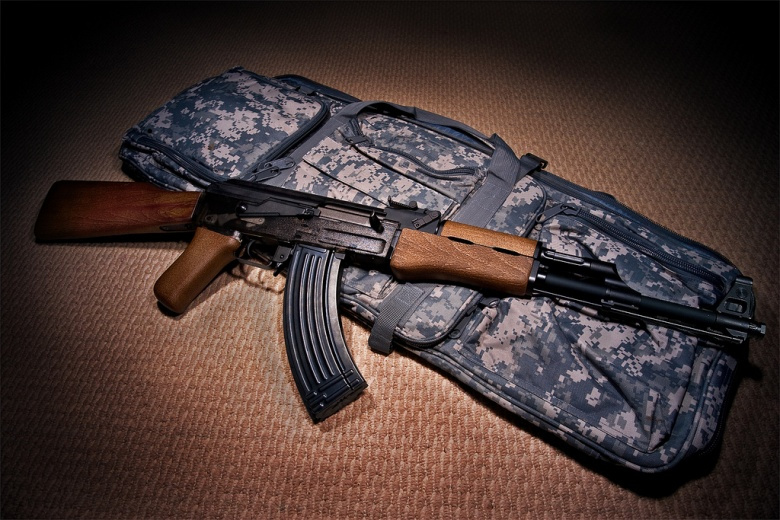 Image: An AK-47 replica for airsoft. Photo by brian.ch, CC BY 2.0.
