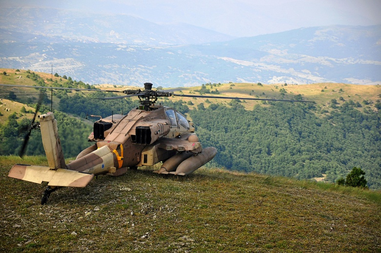 Image: An IDF helicopter in Greece. IDF photo, CC BY-NC 2.0.