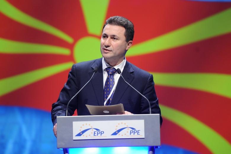 Image: Nikola Gruevski speaking. European People's Party, CC BY 2.0.