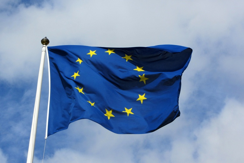Image: the flag of the European Union. Flickr.