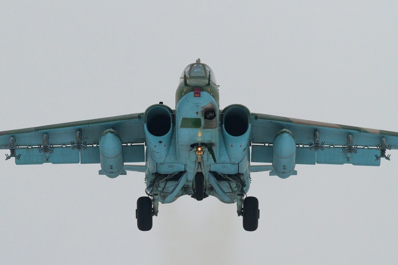 Image: An Su-25 in flight. Photo by Fedor Leukin, CC BY-SA 2.0.