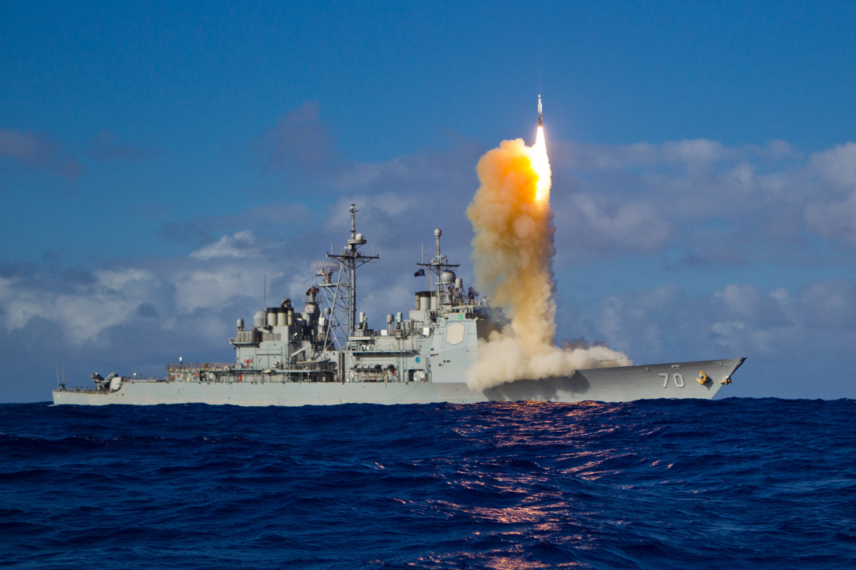 The SM-3 Block 1B successfully intercepts a target missile that launched from the Pacific Missile Range Facility in Hawaii.