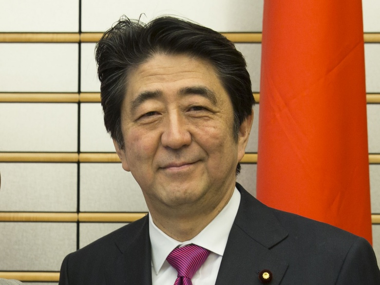 abe japan is back President trump's program of golf diplomacy is back on trump is hosting  japanese prime minister shinzo abe in palm beach, fla,.