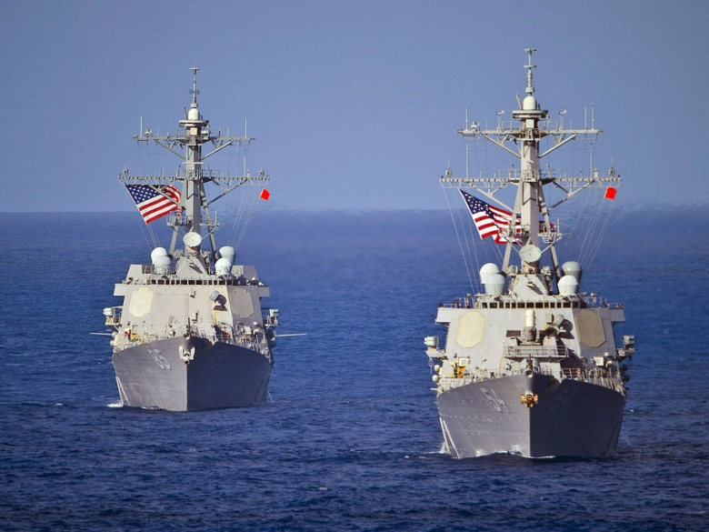 China condemns United States over South China Sea activity
