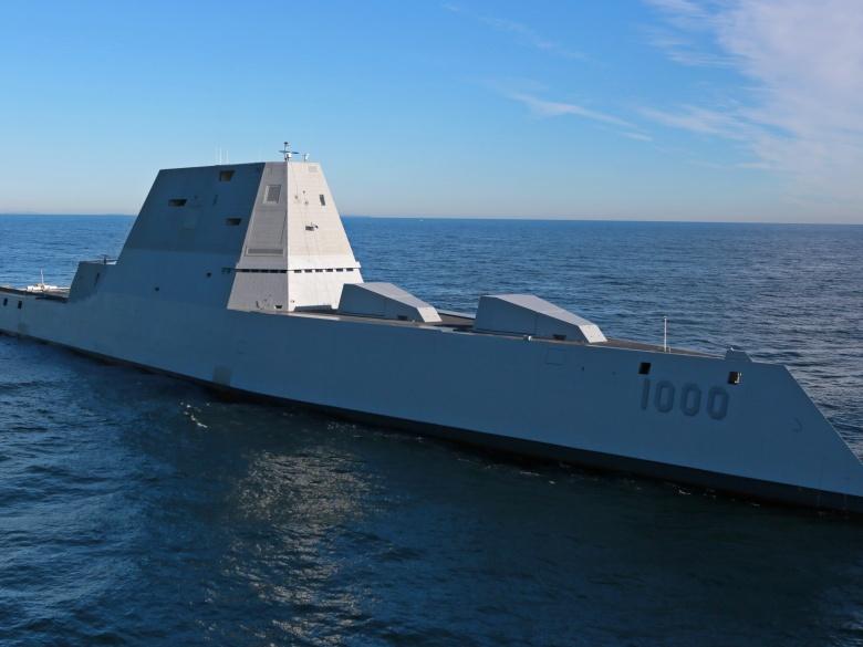 U.S. Navy's Lethal New Stealth Destroyer Is No 'Battleship ...