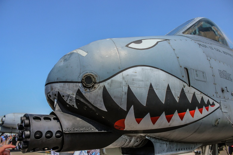 A-10 Warthog at the 2015 McDill airshow. Flickr/Holmes Palacios Jr.