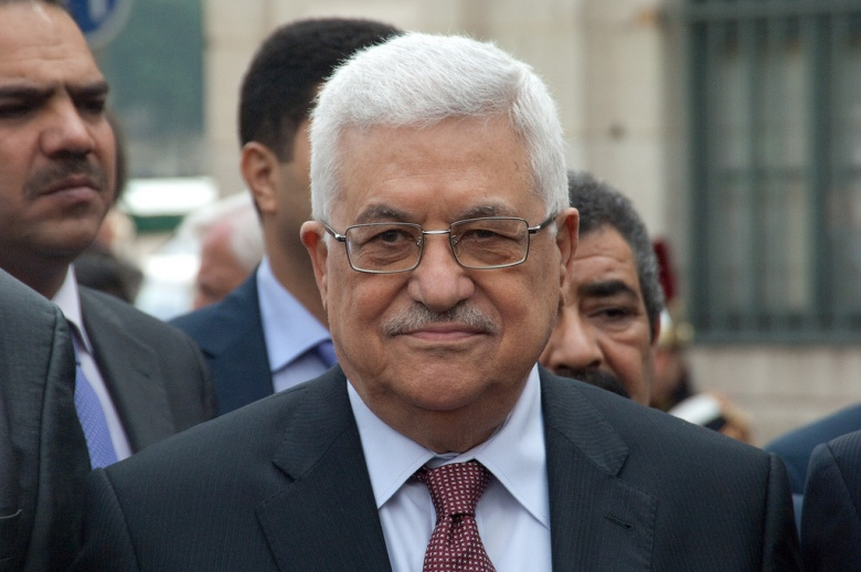 Palestinian president Mahmoud Abbas. Flickr/Olivier Pacteau