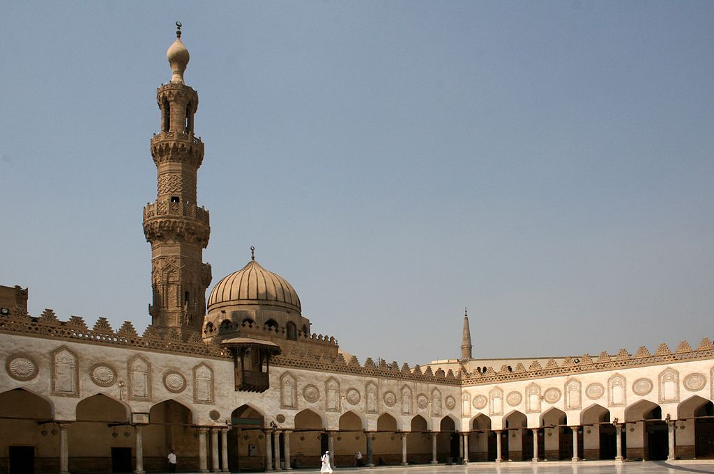 Al Azhar Mosque in Cairo, Egypt. Wikimedia Commons/Creative Commons/Diego Delso