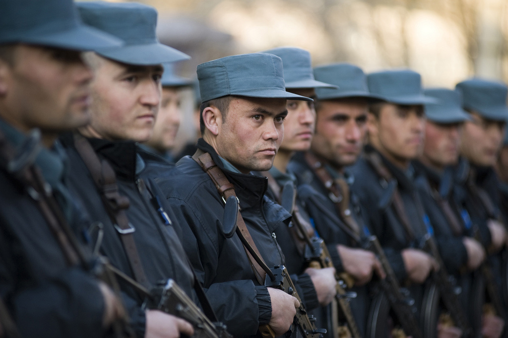 Students at the Afghan National Police Academy. Flickr/DVIDSHUB
