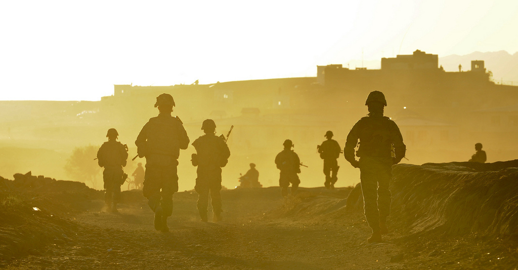 Soldiers and airmen from Provincial Reconstruction Team Zabul, 2010. Flickr/U.S. Army