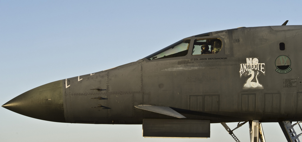 B1-B Lancer. Flickr/U.S. Air Force