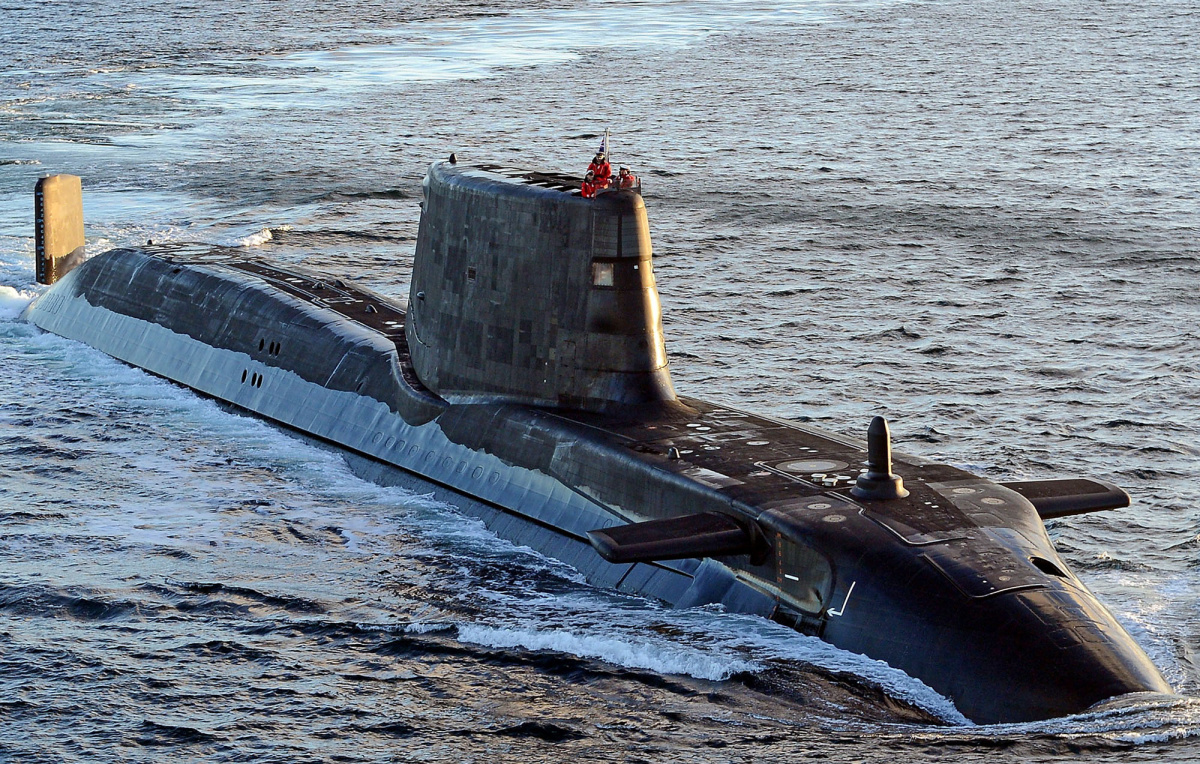 British sailors noticed Russian submarines in the Mediterranean Sea 10/30/2016 68