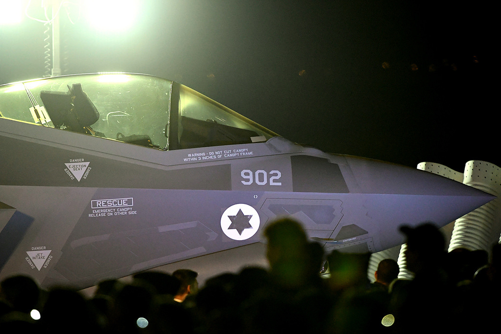 Israel receives its first two fifth-generation F-35 Joint Strike Fighters. Flickr/U.S. Embassy Tel Aviv