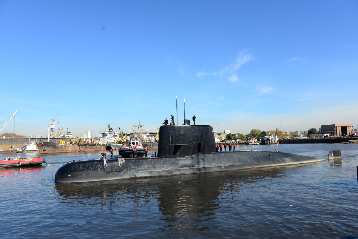 Signals detected from Argentina's missing submarine