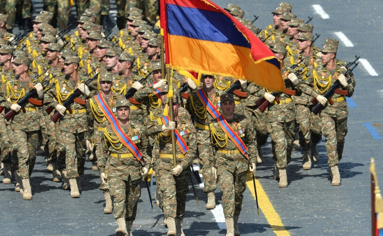Armenian soldiers at the 2015 Victory Day parade. Kremlin.ru