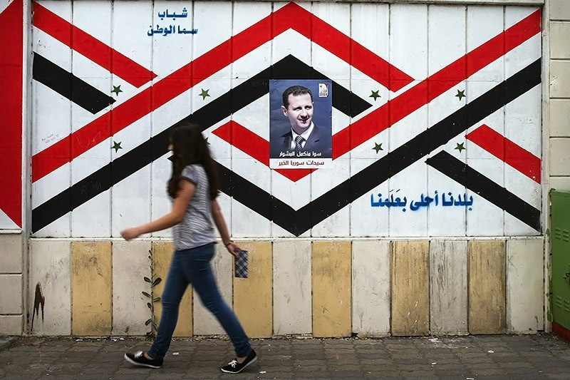 Posters of Bashar al-Assad during Syria's 2014 presidential election. Wikimedia Commons/Creative Commons/Hosein Zohrevand
