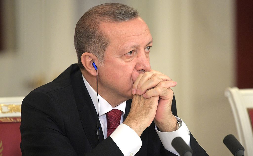 Recep Tayyip Erdogan in March 2017. Wikimedia Commons/Kremlin.ru