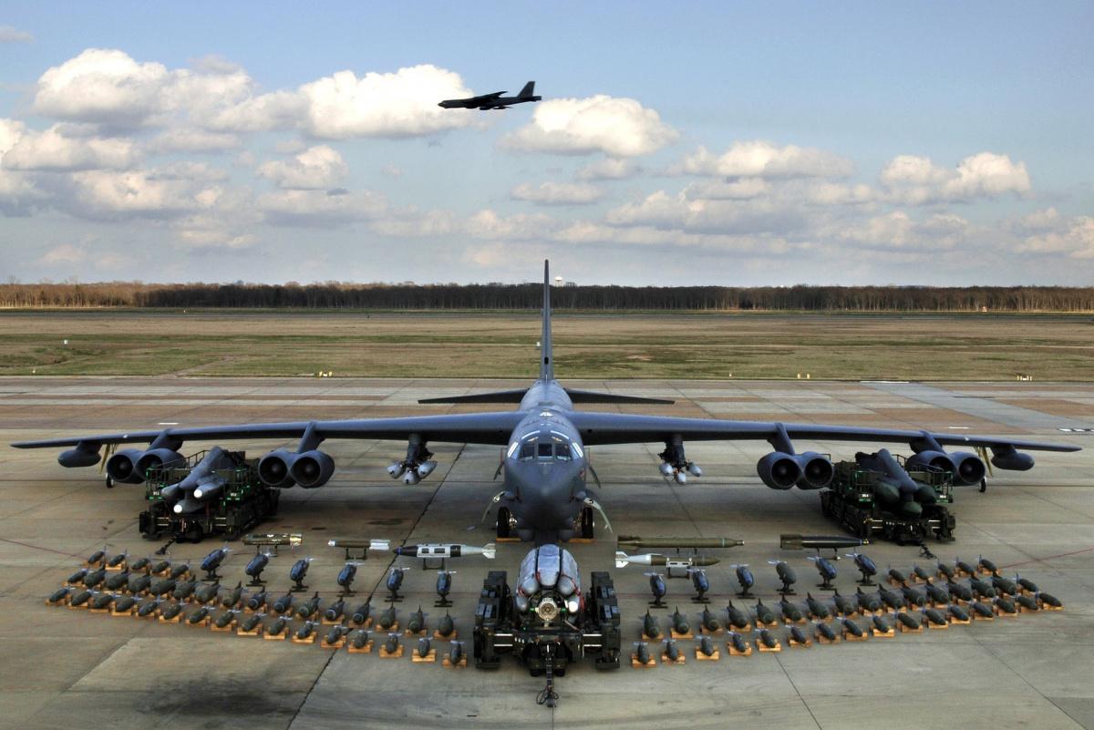 B 52 Bombers Deployed