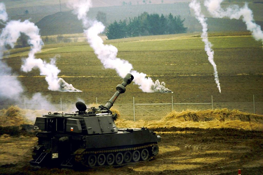 Bundeswehr M109. Wikimedia Commons/Creative Commons