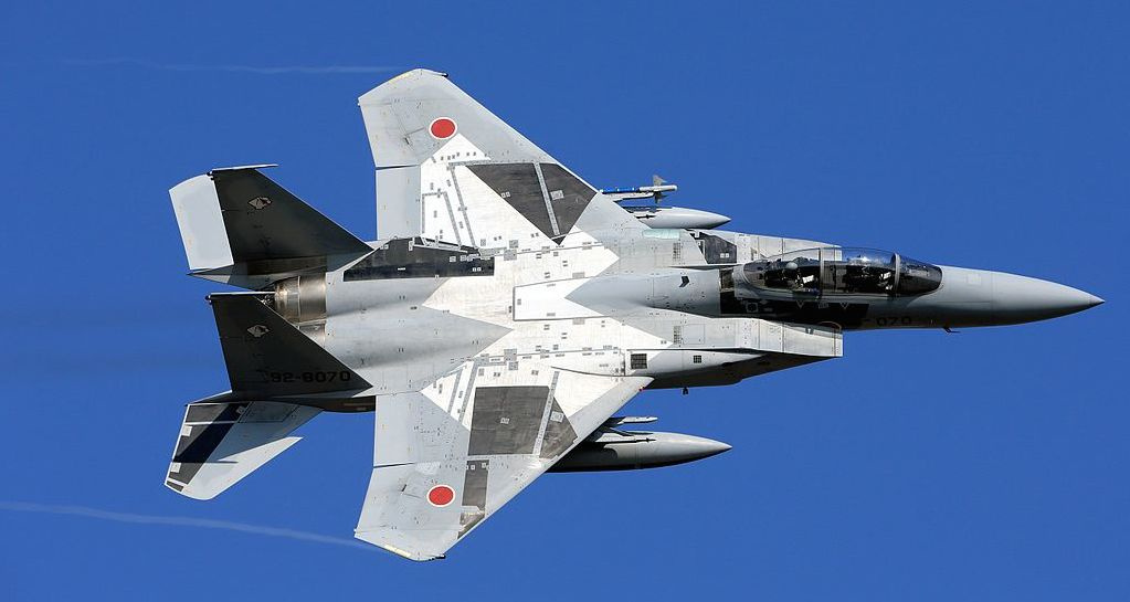 Japanese F-15DJ. Wikimedia Commons/Creative Commons/@Cp9asngf