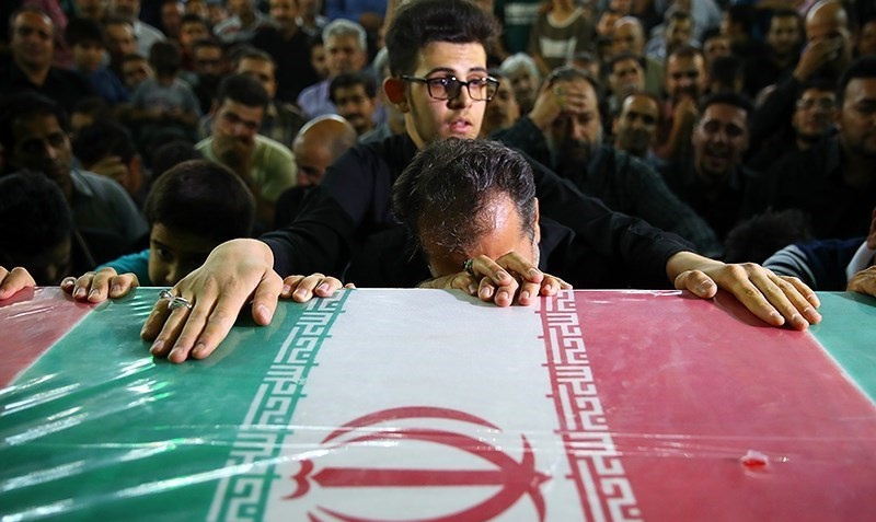 State funeral for victims of 2017 Tehran attacks. Wikimedia Commons/Tasnim News Agency/Mohammad Hassanzadeh