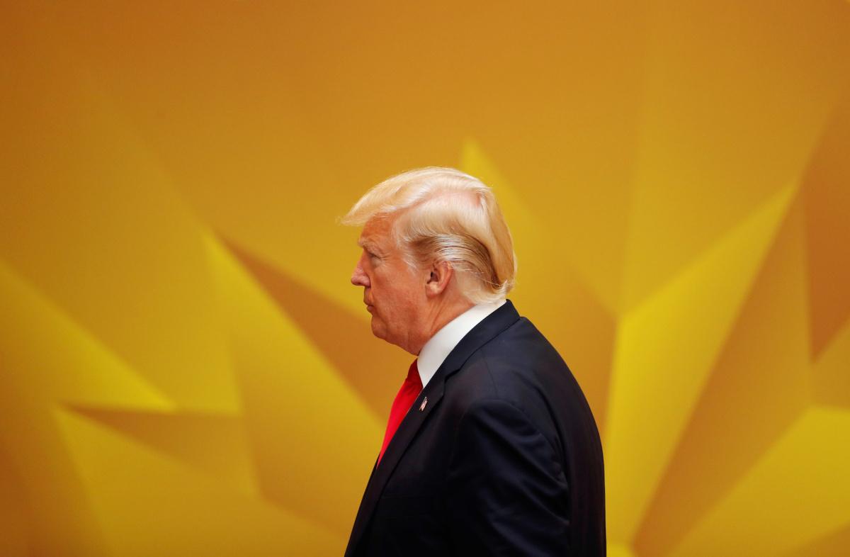 Donald Trump attends the APEC Economic Leaders' Meeting in Danang, Vietnam, November 11, 2017. Reuters/Jorge Silva