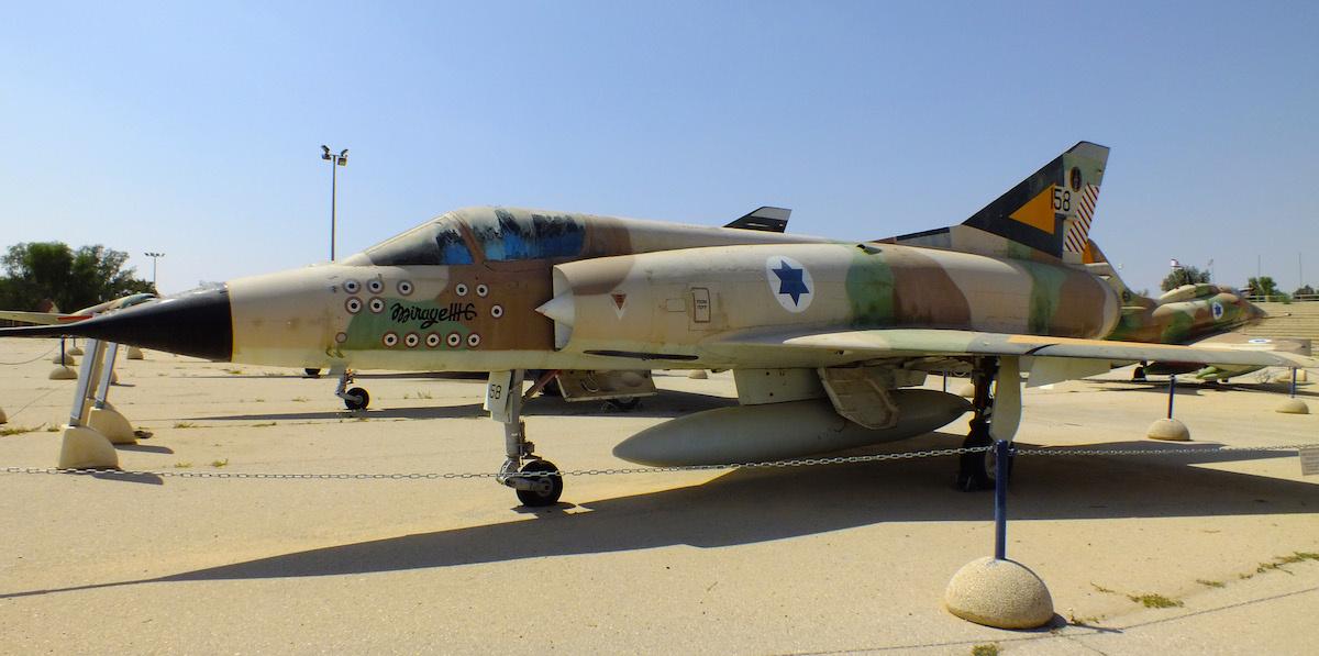 Israeli Mirage IIIC. Marcel Serr/Used by permission