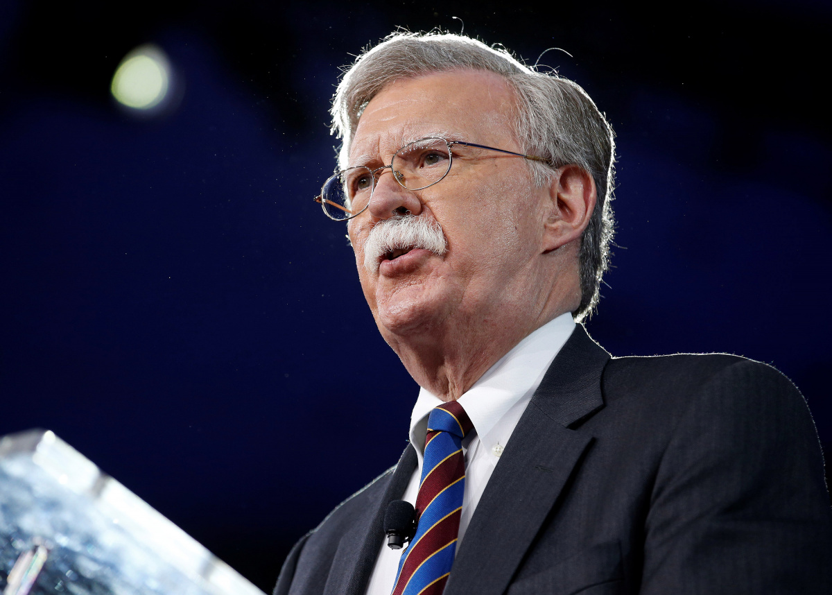 Former U.S. Ambassador to the United Nations John Bolton speaks at the Conservative Political Action Conference