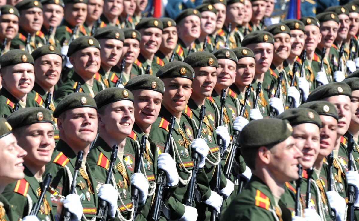 Victory Day parade in Red Square, 2016. Kremlin.ru